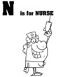 N Is For Nurse Text