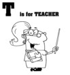 T Is For Teacher Text