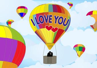 Balon Turu, Balonda Aşk