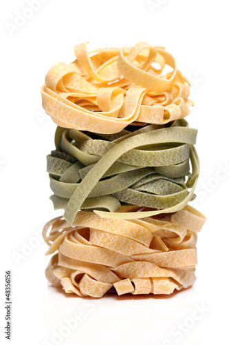 Fresh and tasty tagliatelli