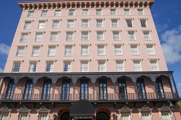 Classic Pink Square Hotel