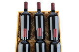 Case of Cabernet Wine Bottles