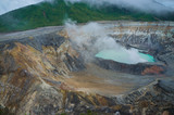 Fototapety Poas volcano fumes
