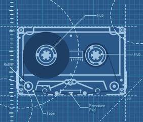 Tape schematic