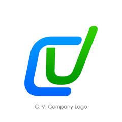 C. V. Company Logo