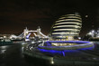 London City Hall and Tower Bridge at Night
