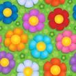 Flowery seamless background 9
