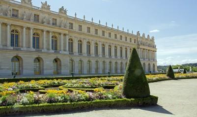 jardin à la française, château de Versailles (France)