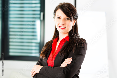 businessperson in business office