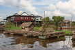 Abri de peche à Kampong Phluk, village flottant