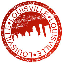 Stamp - Louisville, USA