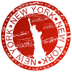Stamp - New York, USA