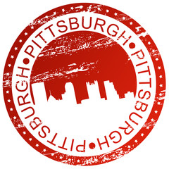 Stamp - Pittsburgh, USA