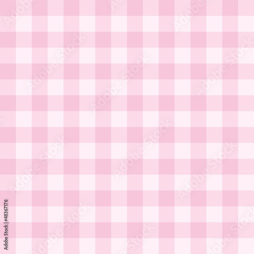 Poster Seamless pink background vector checkered pattern
