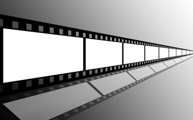 Filmstreifen weiß