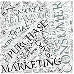 Consumer psychology Disciplines Concept
