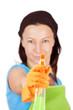spray bottle aiming