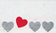 Herz tanzt aus der Reihe