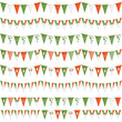 irish party bunting
