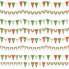 irish party bunting
