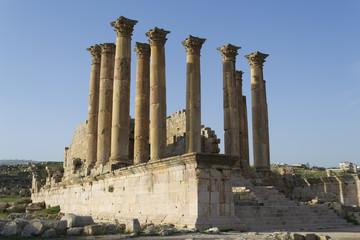 rovine di Jerash - tempio