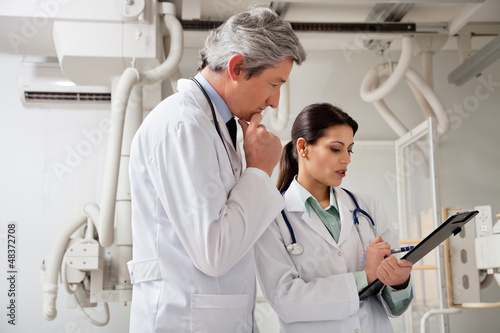 Radiologists In A Discussion