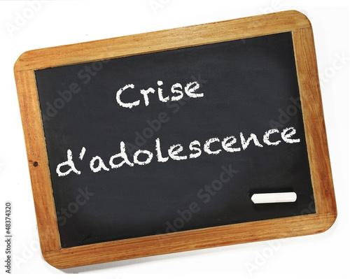 crise d'adolescence