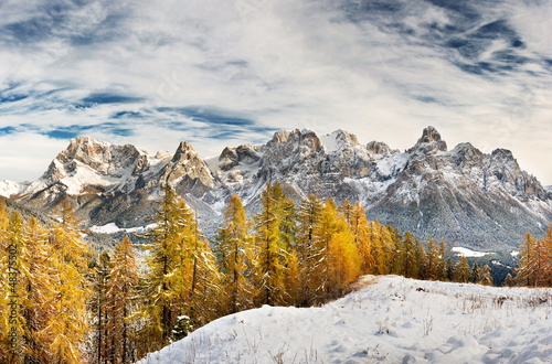 Autumn in the Dolomites - Pale di San Martino