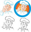chef icon and outline