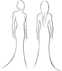 woman outline