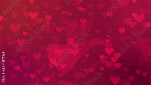 valentine's day loopable abstract background