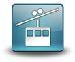 "Light Blue 3D Effect Icon ""Aerial Tramway"""