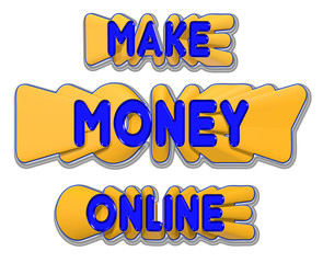 Make Money Online Sign