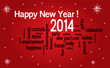 WEB ART DESIGN TAG CLOUD HAPPY NEW YEAR CELEBRATION  200