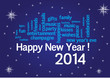 WEB ART DESIGN TAG CLOUD HAPPY NEW YEAR CELEBRATION  100