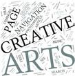 Creative arts Disciplines Concept