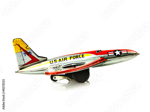 american tin airplane