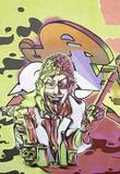 Graffiti person - 48379198
