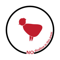 chicken disallow tag