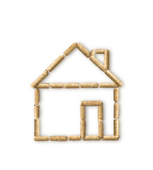Holzpellet-Energiehaus