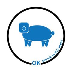 pig permit tag
