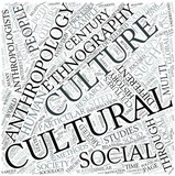 Cultural anthropology Disciplines Concept