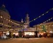 Leinwandbild Motiv Salzburg Weihnachtsmarkt 02
