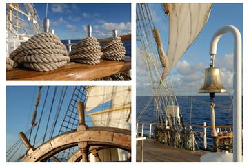 Romantic Travel, Sailing Frigate, Tall ships