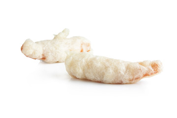 Shrimp tempura isolated