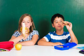 ausgewogene ernährung in der schulpause