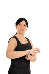 Business Woman shows on your watch