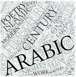 Arabic literature Disciplines Concept