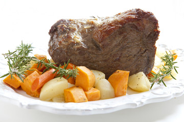 Beef Roast with Vegetables