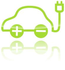 Elektroauto Logo